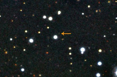 Liverpool Telescope image of GRB101225A