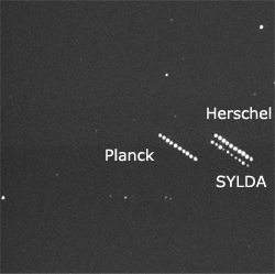 Planck & Herschel trails